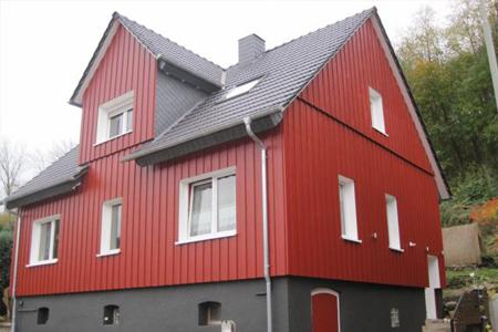Fassadenarbeiten - Dachdecker Hansel